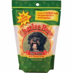 Charlee Bear Dog Cheese & Egg Treat 6 oz