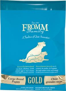 Fromm Gold Large Breed Puppy, 15 Lb
