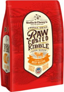 Stella & Chewy's Raw Coated Beef Recipe Kibble 10#