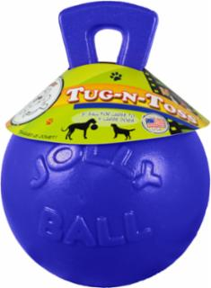 Jolly Pets Tug-N-Toss Blue 8""