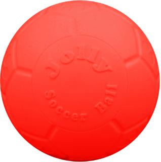 "Jolly Pets Orange 8"" Soccer Ball"