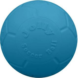 "Jolly Pets Ocean Blue 8"" Soccer Ball"