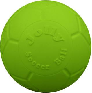 "Jolly Pets Green Apple 8"" Soccer Ball"