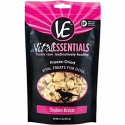Vital Essentials Freeze Dried Diced Chicken Treat 2.1 oz