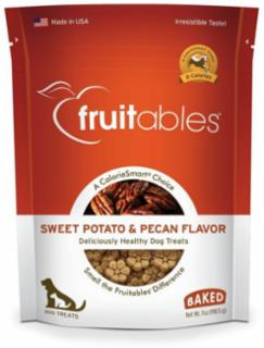 Fruitables Sweet Potato & Pecan Flavor Dog Treats 7 oz.