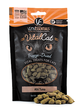 Vital Essentials Freeze-Dried Vital Cat Treats Ahi Tuna 1.1 oz