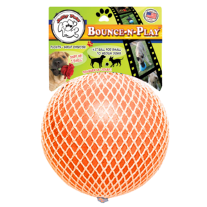 Jolly Pets Bounce-N-Play Orange 6""