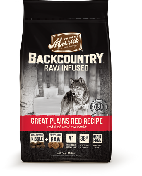 Merrick Backcountry Great Plains Red Recipe Dog 12 lb