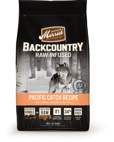 Merrick Backcountry Pacific Catch Recipe Dog 12#