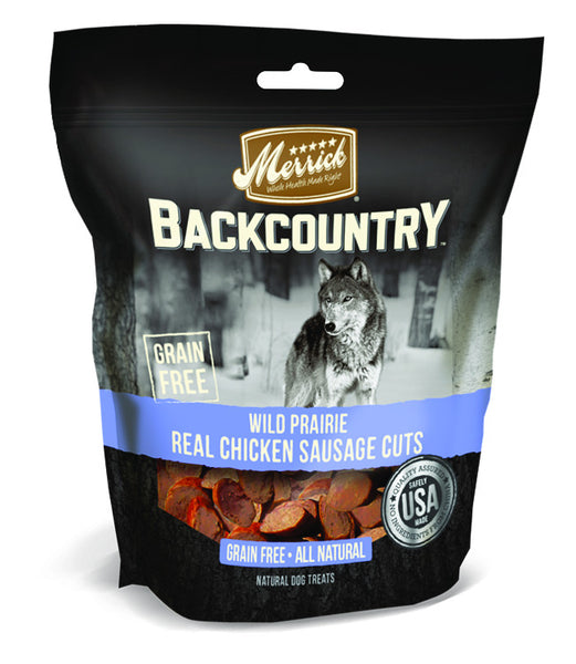 Merrick Backcountry Wild Prairie Real Chicken Sausage Cuts 5Z