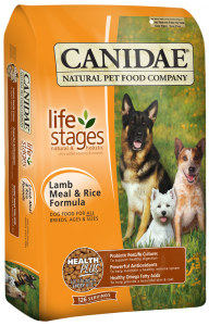 Canidae Lamb & Rice Dry Dog 5 lb.
