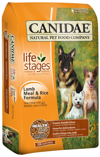 Canidae Lamb/Rice Dry Dog 30 lb.