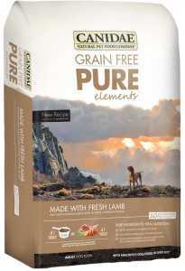 Canidae Grain Free Pure Elements Lamb 4 lb.