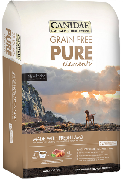 Canidae Grain Free Pure Elements Lamb 24 lb.