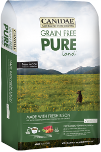 Canidae Pure Land With Bison 4 lb
