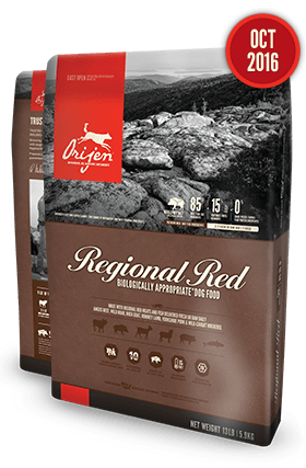 Orijen Regional Red USA dog food 25 lb