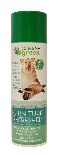 Clean & Green Dog And Cat Furniture Refresher, Odor Remover And Cleaner 16 oz.