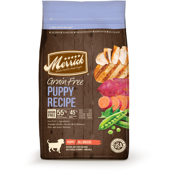 Merrick Grain Free Puppy 4# Bag