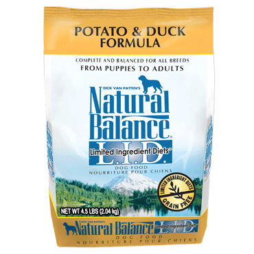 Natural Balance Limited Ingredient Diet Duck & Potato Formula Dry Dog Food 4.5 lb