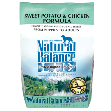 Natural Balance Limited Ingredient Diet Chicken & Sweet Potato Dry Dog Food 4.5 lb