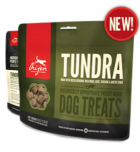 Orijen Freeze-Dried Tundra Dog Treats 3.25 oz