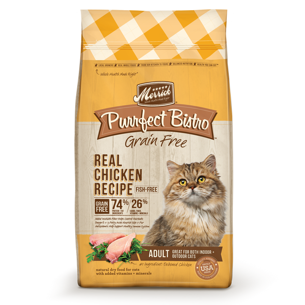 Merrick Purrfect Bistro Real Chicken Recipe Cat 7#