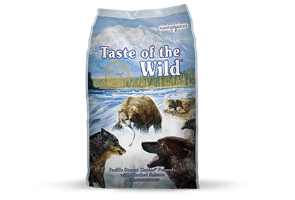 Taste of the Wild Pacific Stream Canine with Smoked Salmon 15 Lb.