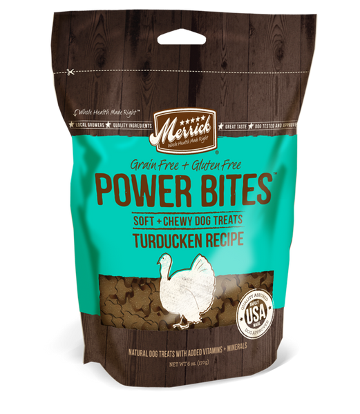 Merrick Power Bites Turducken Recipe 6oz