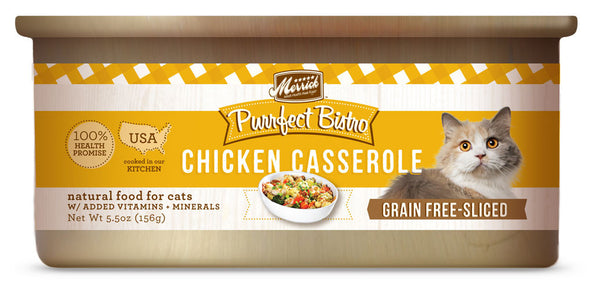 Merrick Purrfect Bistro Chicken Casserole 5.5 oz Cat