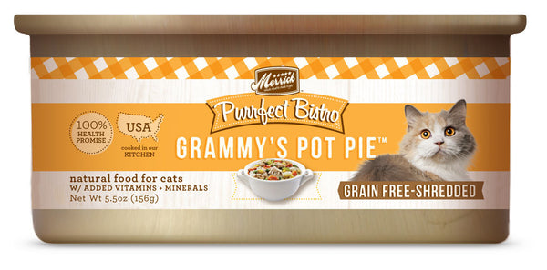 Merrick Purrfect Bistro Grammy's Pot Pie 5.5 oz Cat
