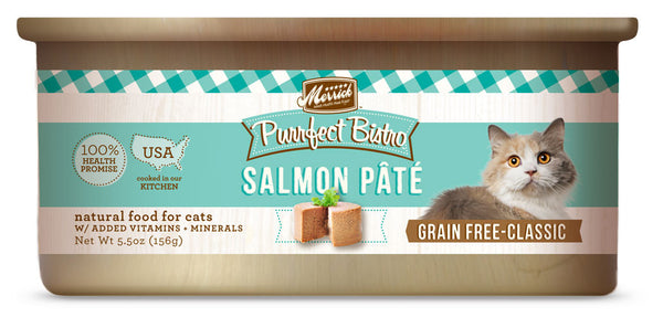 Merrick Purrfect Bistro Salmon Pate 5.5 oz Cat