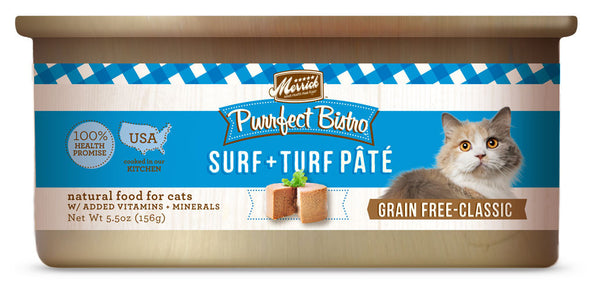 Merrick Purrfect Bistro Surf and Turf 5.5 oz Cat