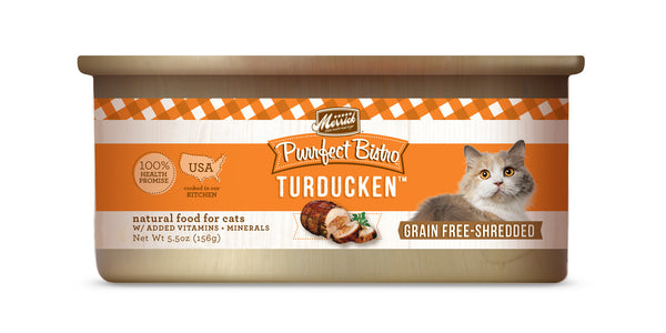 Merrick Purrfect Bistro Turducken 5.5 oz Cat