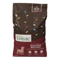 Nature's Logic Canine Dry Kibble Beef 4.4 lb