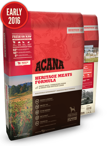 Acana Heritage Meats Dog Food - 13 lb