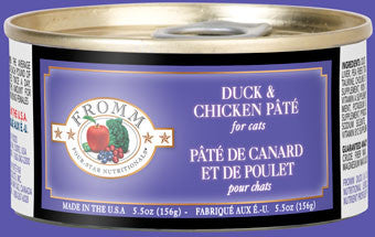 Fromm Four Star Cat Duck/Chicken Pate 5.5 oz