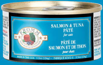 Fromm Four Star Cat Salmon/Tuna Patte 5.5 oz