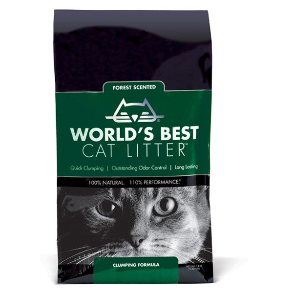 World's Best Litter Clumping Forest Scent 12 lb.