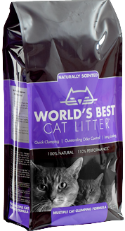 World's Best Scented Multiple Cat Clumping Formula 14 lb.