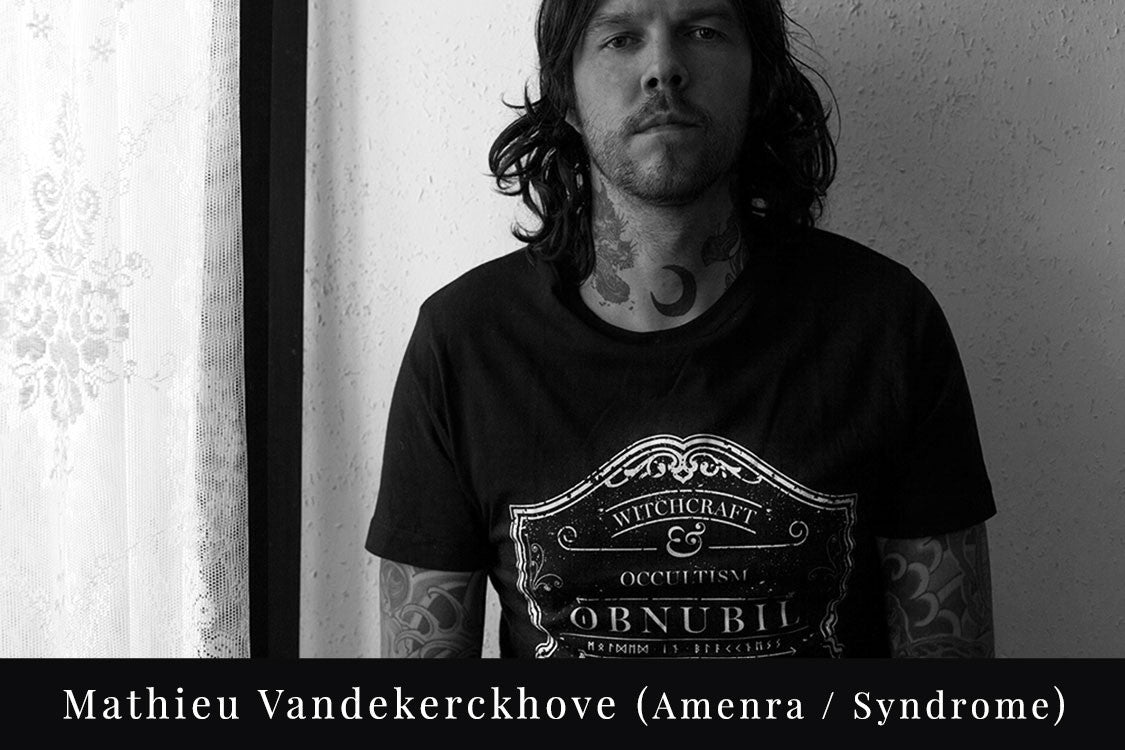 OBNUBIL • The Covenant • Mathieu Vandekerckhove, guitarist of Amenra and Syndrome, associate of Church of Ra. Also plays in Kingdom and Sembler Deah.