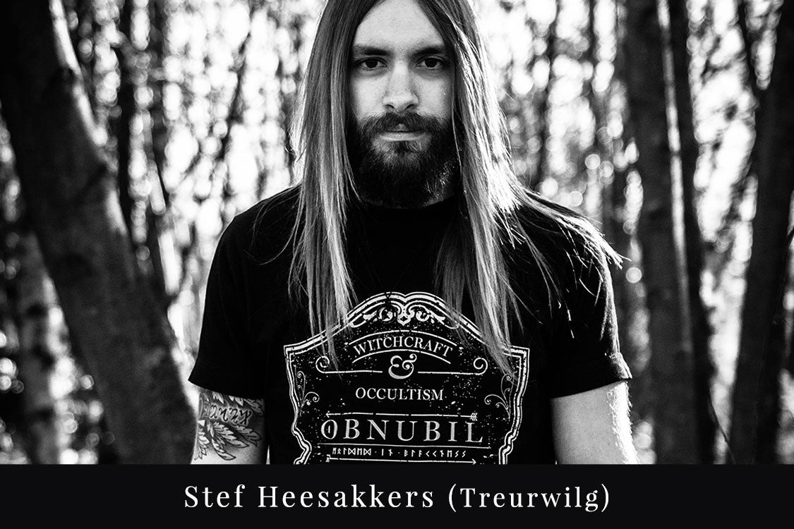 OBNUBIL • The Covenant • Stef Heesakkers, guitarist from the Dutch doom metal band Treurwilg. For fans of Amenra, Ahab, Swallow The Sun and (early) Katatonia.