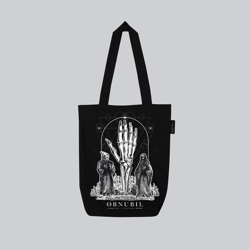 TOTE BAG • UNDER THE HAND OF BURNING MONKS