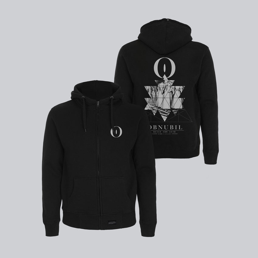 MEN'S HIGH NECK ZIP-UP HOODY • SALEM TRIAL
