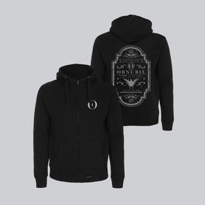 MEN'S HIGH NECK ZIP-UP HOODY • ALCHIMIA