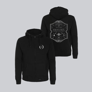 MEN'S HIGH NECK ZIP-UP HOODY • WITCHCRAFT & OCCULTISM