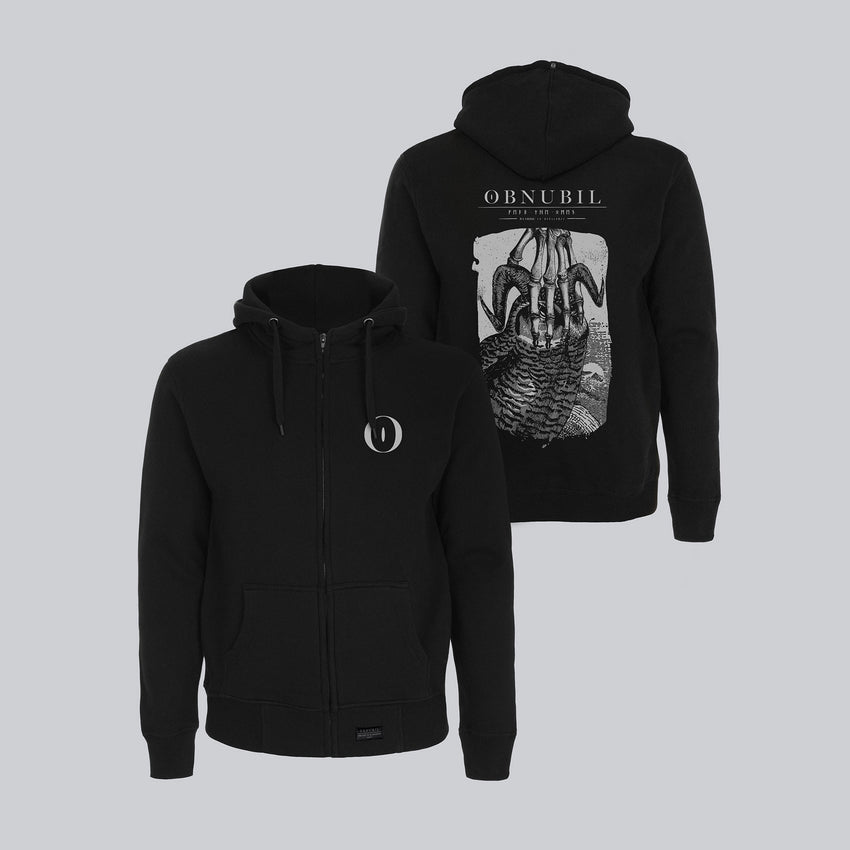 MEN'S HIGH NECK ZIP-UP HOODY • ATHENE NOCTUA