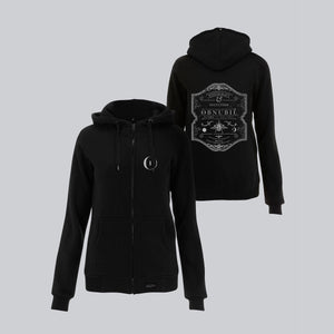 WOMEN'S HIGH NECK ZIP-UP HOODY • WITCHCRAFT & OCCULTISM