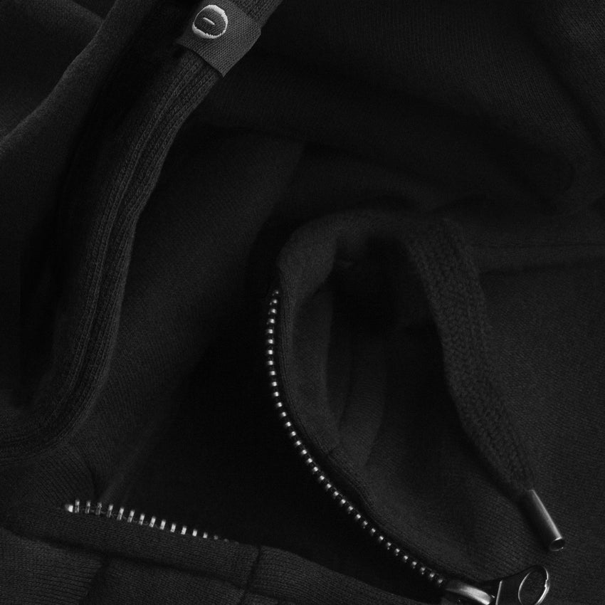 WOMEN'S HIGH NECK ZIP-UP HOODY • ATHENE NOCTUA