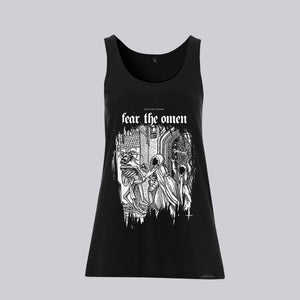 WOMEN'S JERSEY VEST • FEAR THE OMEN I