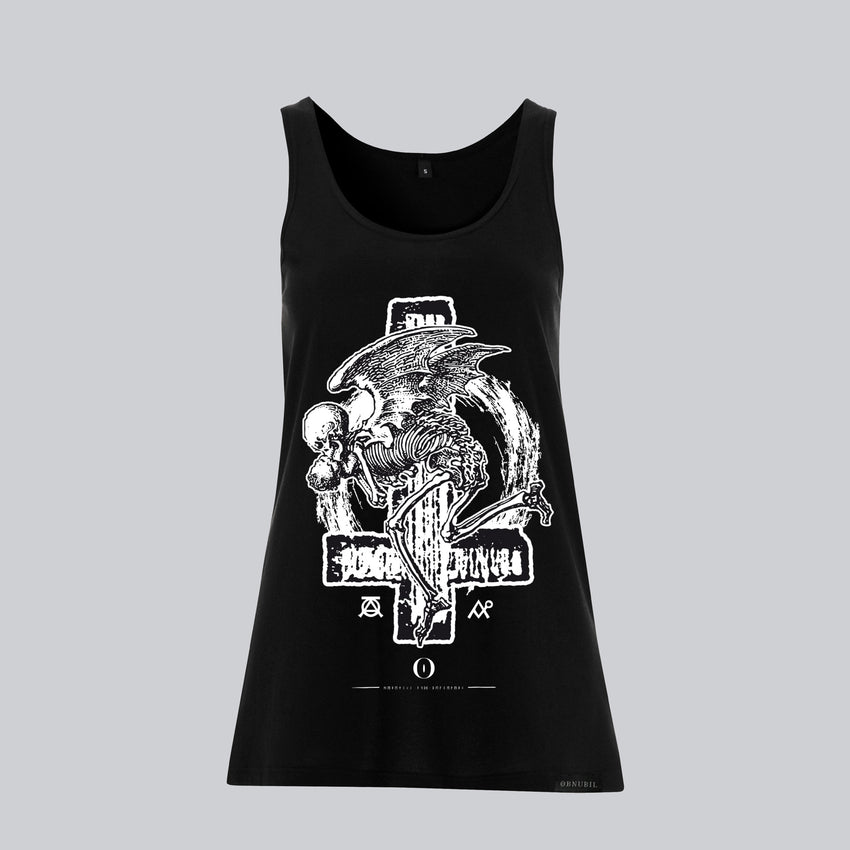 WOMEN'S JERSEY VEST • DEATH POEM OF GRYLA